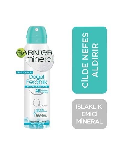 Garnier Mineral Doğal Ferahlık Sprey Deodorant Renksiz